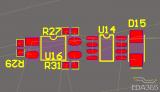 使用AD对PCB布局的模具设计