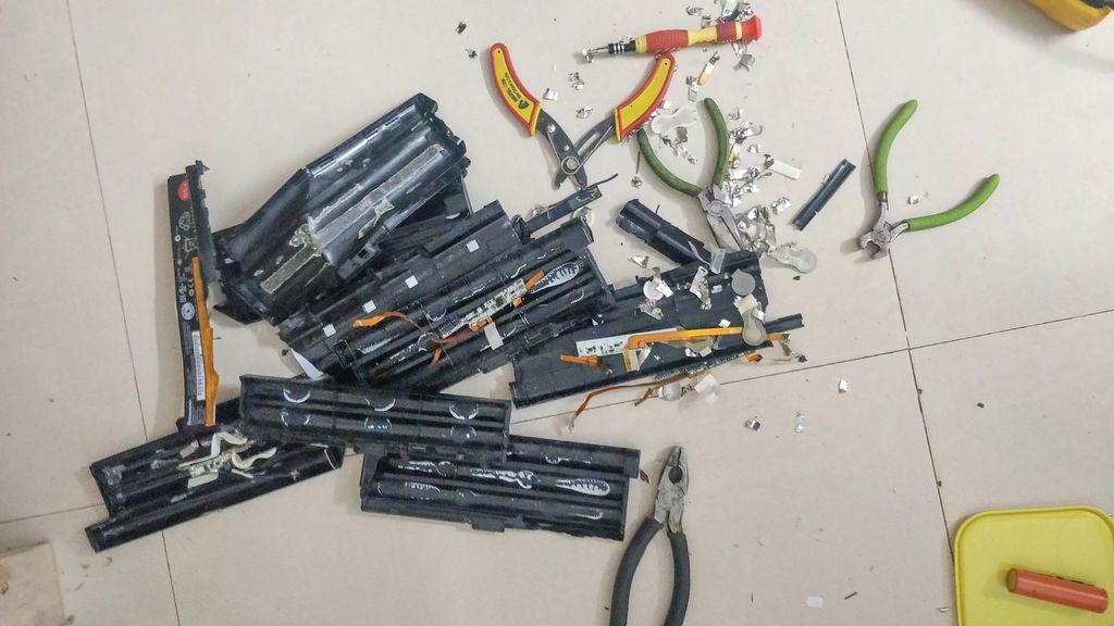 怎样用18650电池制作笔记本移动电源