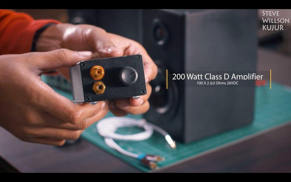 200W便携式放大器DIY图解