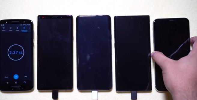 三星Galaxy Note 10进行了充电测试,...