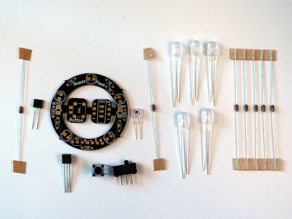 便携式弹药计数器和计时码表的制作