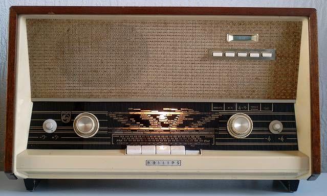 50年代飞利浦电子管收音机的修复图解