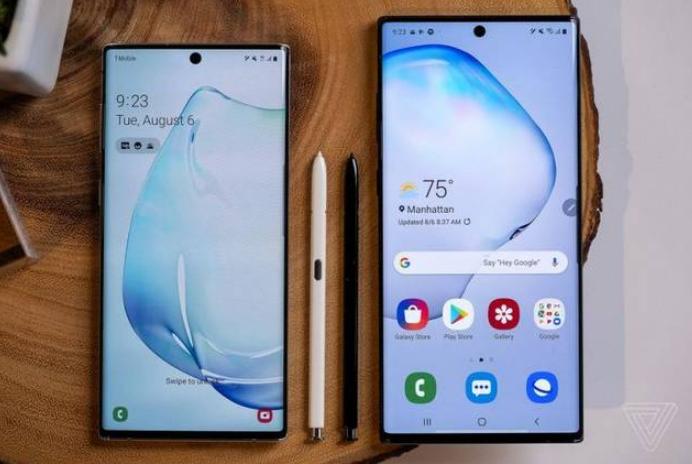 三星首次在Note 10系列手機中采取雙機策略 均有5G版本