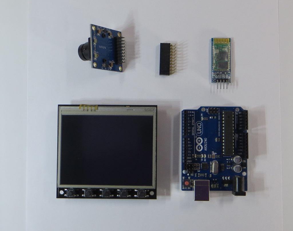 Arduino蓝牙相机DIY图解