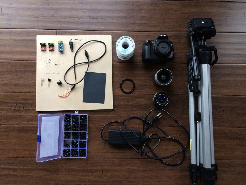 桌面千兆像素显微镜的制作