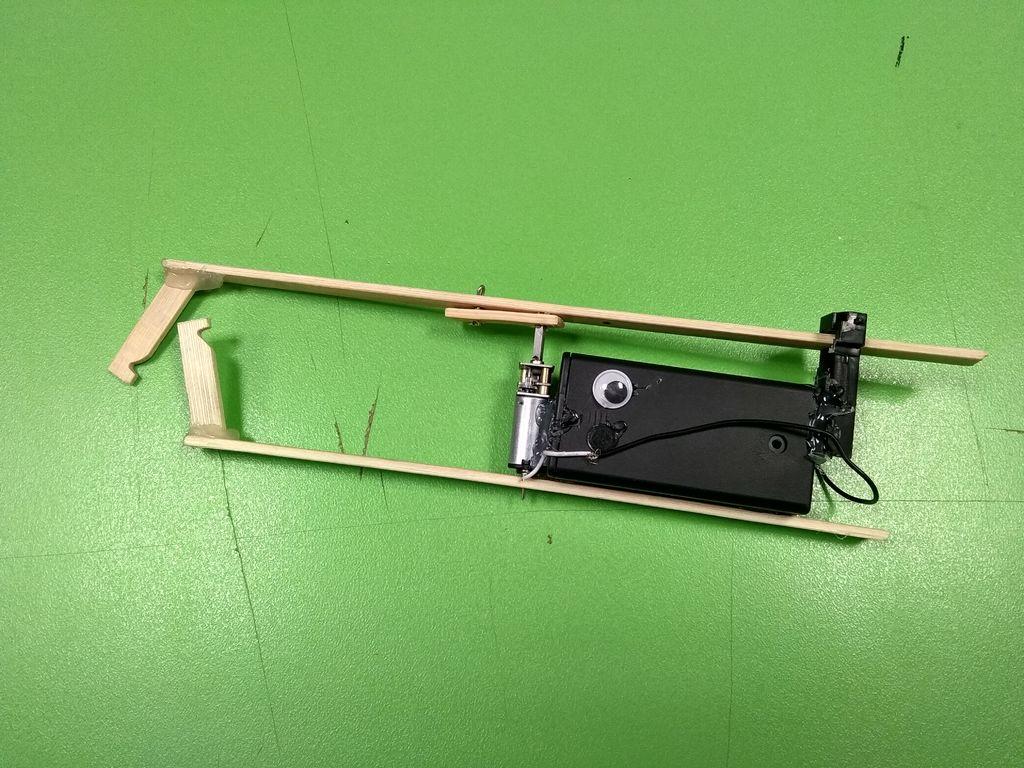 绳索攀登机器人的制作