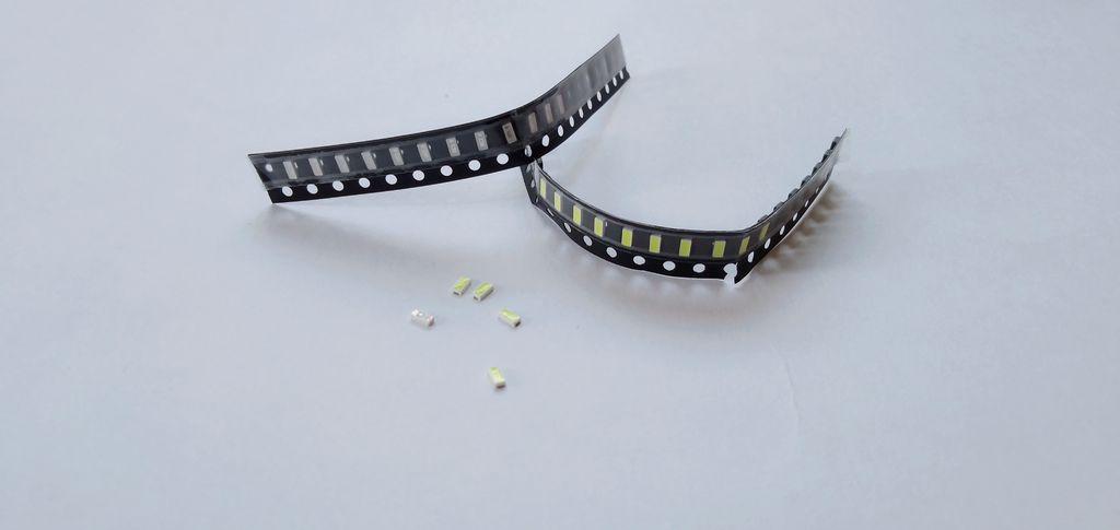 如何用铜带制作简易LED灯条