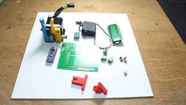 怎样用Arduinonano控制板制作自动线切割机