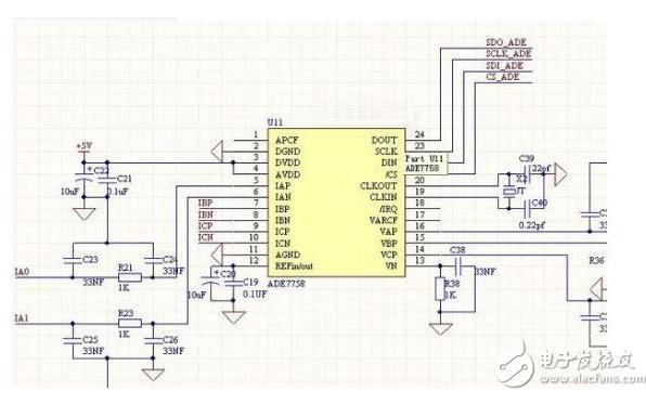 使用STM32F4和ADE7758实现单项用电器监测的程序和工程文件免费下载