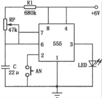 555定時器的工作原理及過程分析
