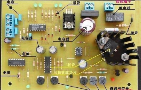 集成电路板上元器件的符号标示识别