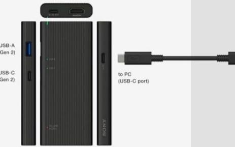 索尼推出支持HDMI的最快的USB-C连接器