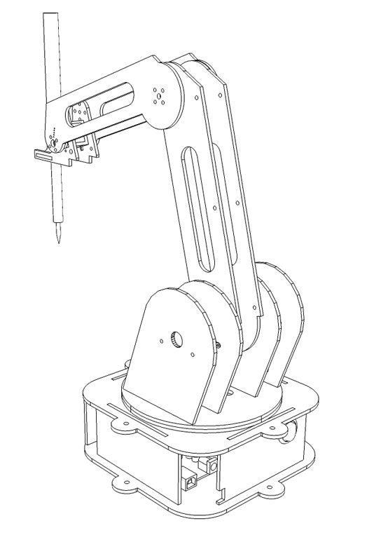 自动焊接机械臂的制作