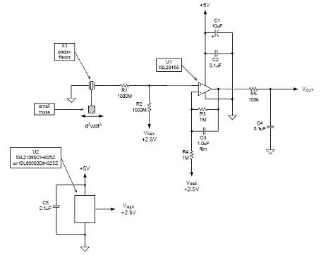 壓電薄膜傳感器的原理和實用電路設計