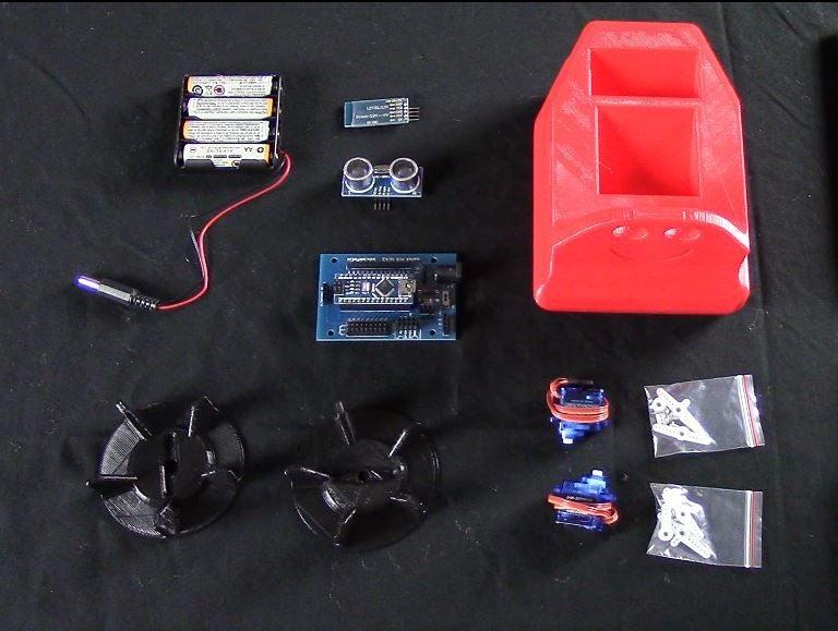 Arduino船型机器人的制作