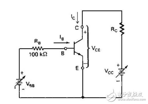 npn型三極管原理圖