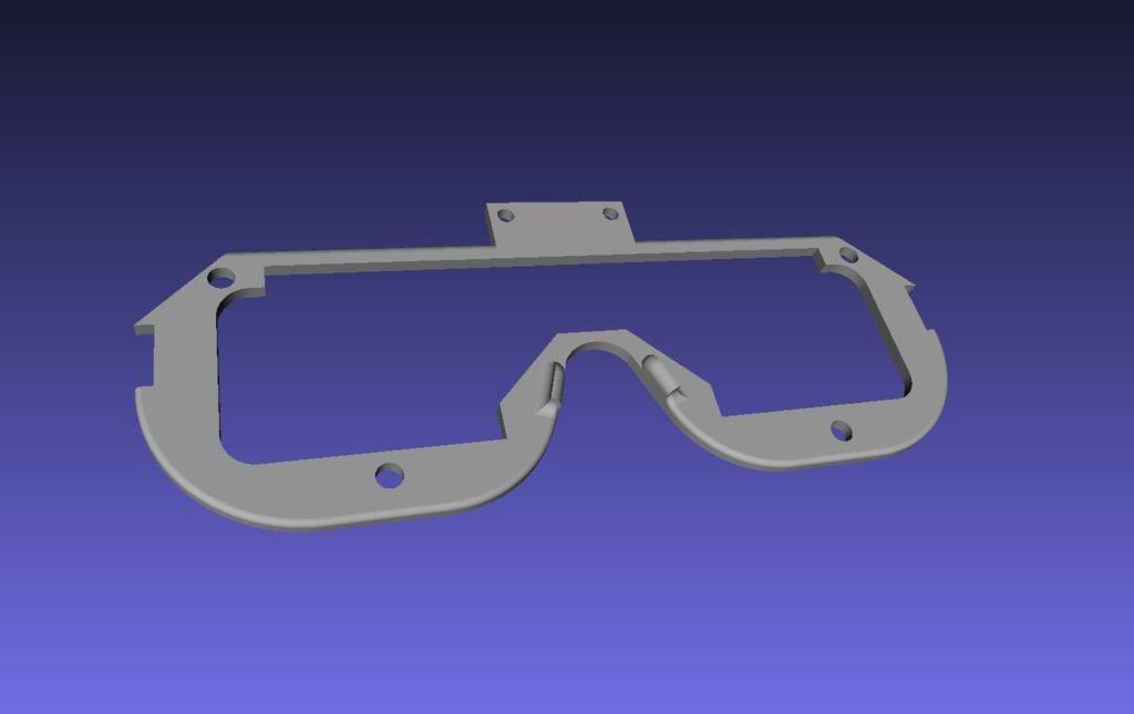 雷达眼镜的制作