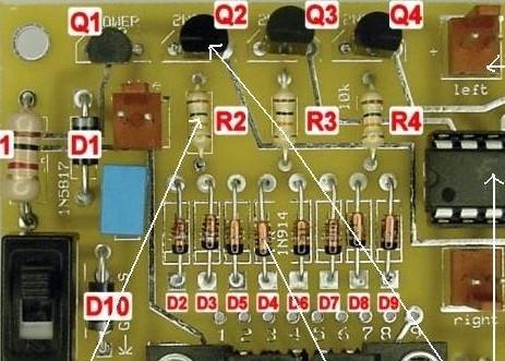 元器件安装的技术要求及注意事项