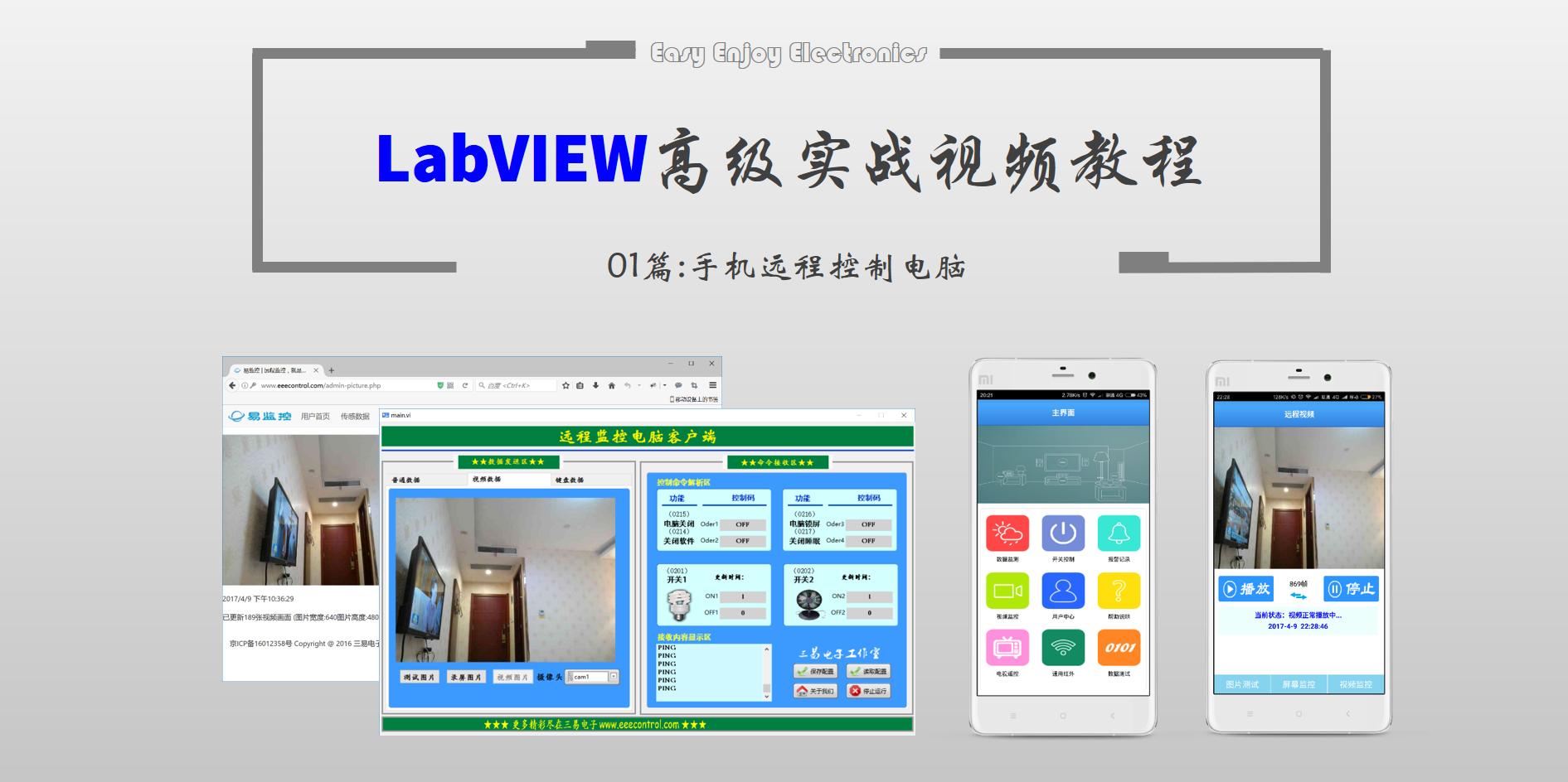 【终极福利】利用LabVIEW轻松玩转远程视频监控