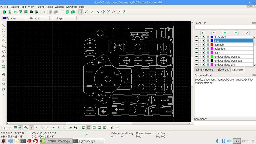 木质三轴无人机的制作教程