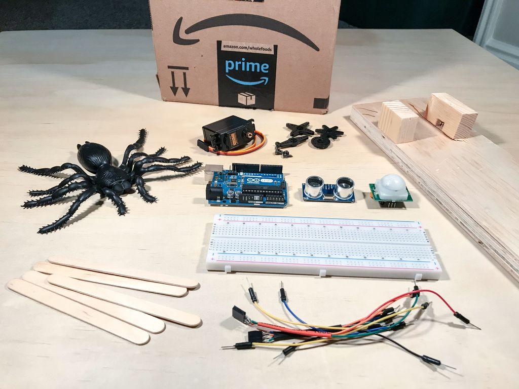 Arduino自动蜘蛛的制作