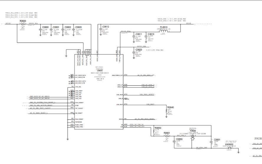 iPhone 6sp电路原理图合集免费下载