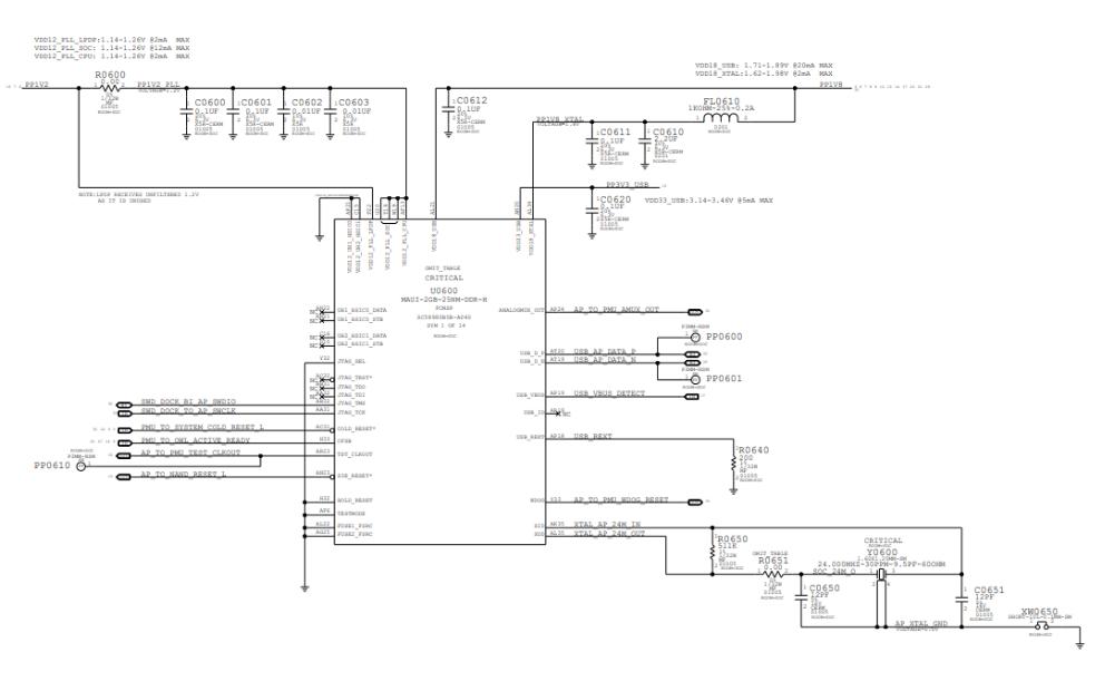 iPhone6S 4.7电路原理图合集免费下载