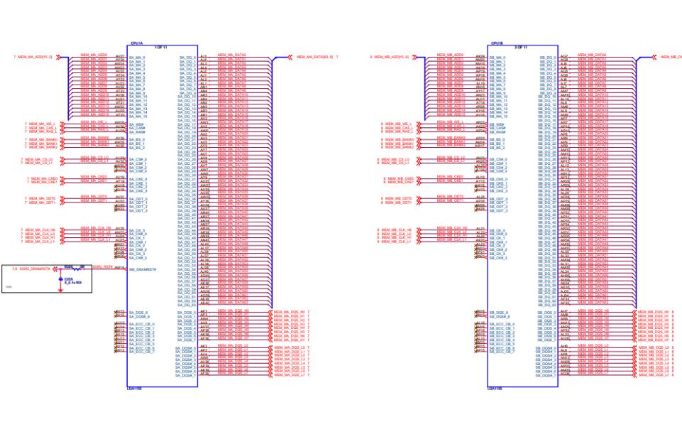 MS-7680微星主板的电路原理图免费下载