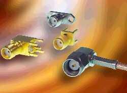 SMA连接器由直线和直角插头和插座组成 广泛面向商业应用