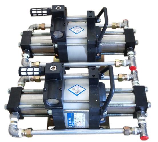空气增压泵的工作原理