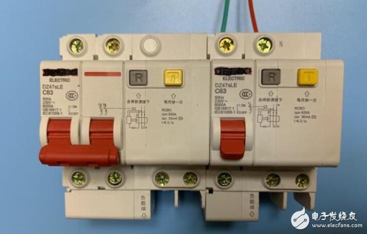 家庭漏电保护器如何接线