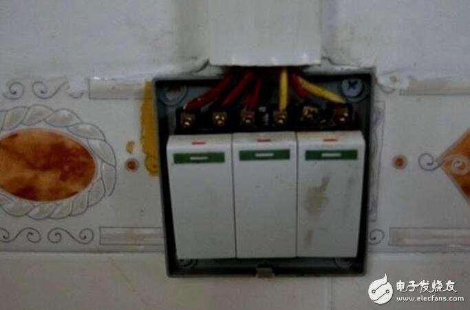 家庭开关插座的安装方法
