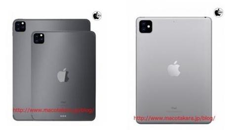 iPad Pro 2019曝光采用了浴霸式三摄设计强化了AR技术相关的功能