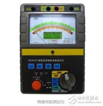 如何正确的使用绝缘电阻?