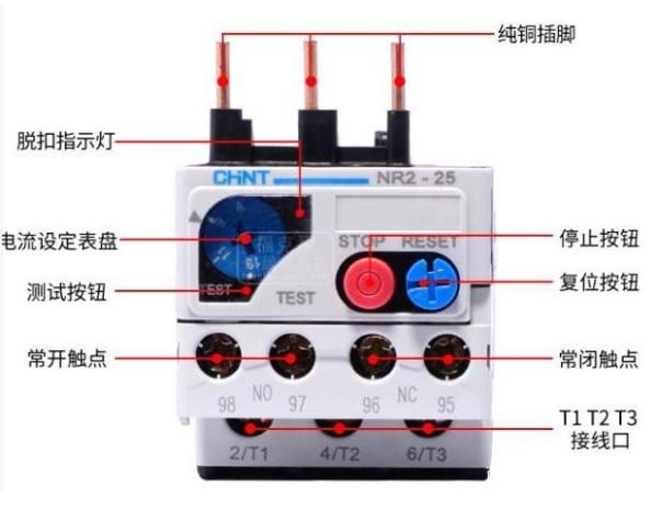 用萬用表正確判斷熱繼電器的好壞