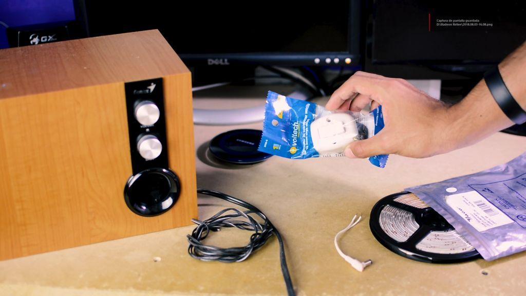 如何制作一个跟着音乐节奏灯做出反应的LED灯条