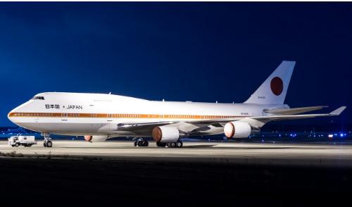 日本空军一号将是世界上飞行时数最低的波音747-400飞机之一
