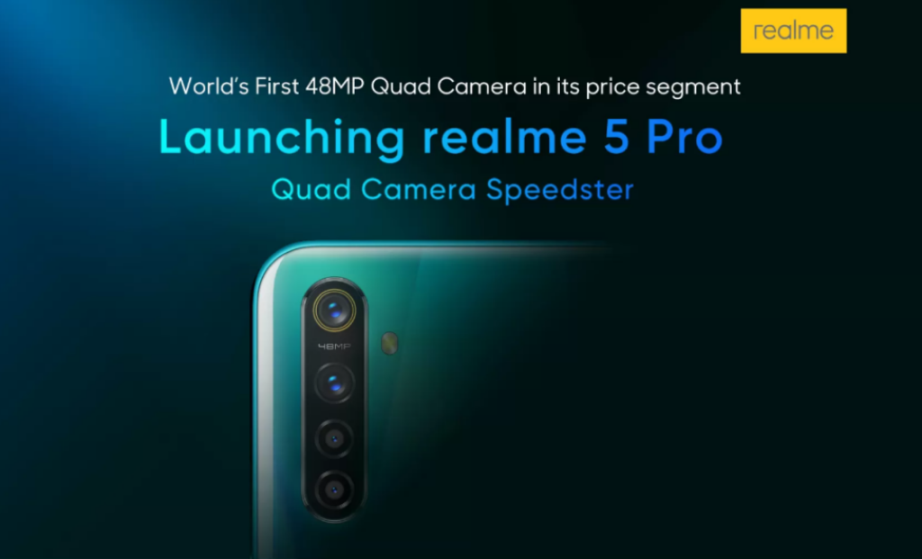 印度发布realme 5和5 Pro,搭载480...
