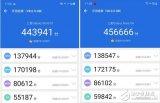 国行三星Note10+5G安兔兔跑分达到45万分