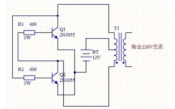 48V3000W 逆变器PCB和电路原理图免费下载