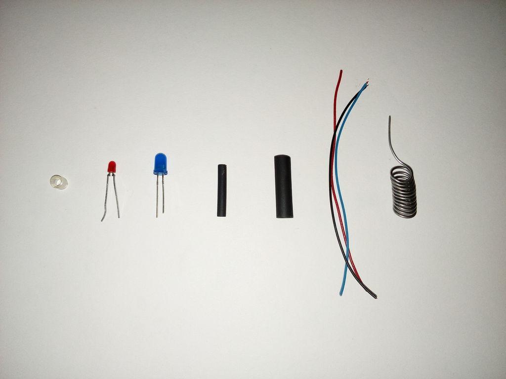 双色LED指环DIY图解