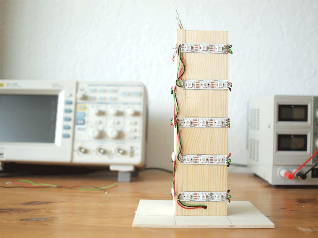 彩虹塔的制作教程