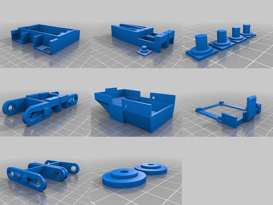 3D打印四足机器人的制作教程