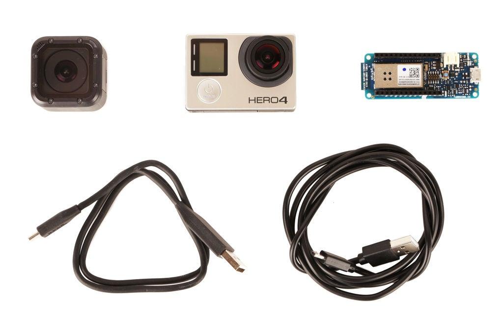 如何使用Arduino控制GoPro