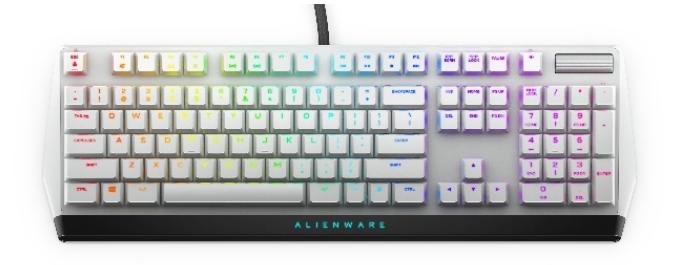 ALIENWARE推出兩款紅軸機械鍵盤以及三款有線/無線鼠標
