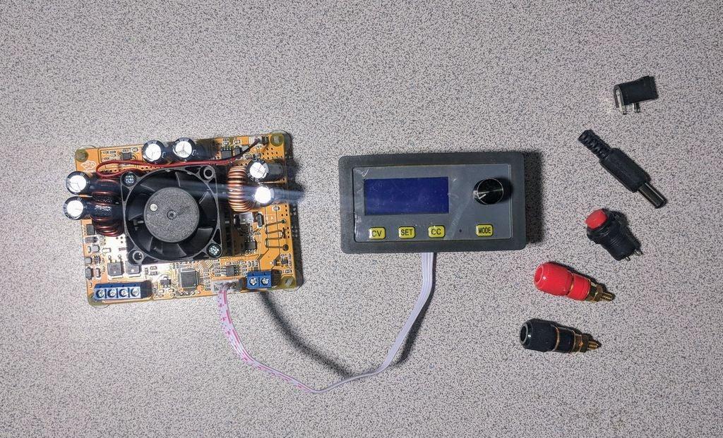 便携式实验室电源的制作教程