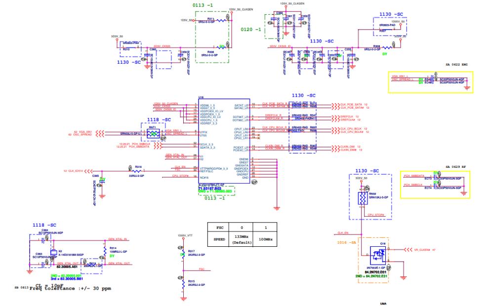 宏基4741G笔记本电路原理图合集免费下载