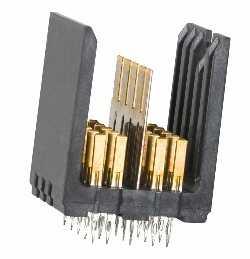 新型GbX 2对连接器有两大关键优势 专为具有严格插槽限制的应用设计