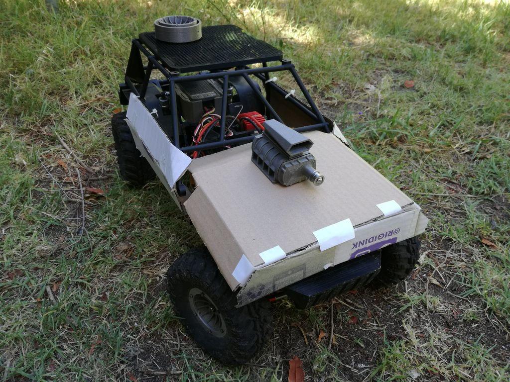 遥控玩具越野车DIY图解