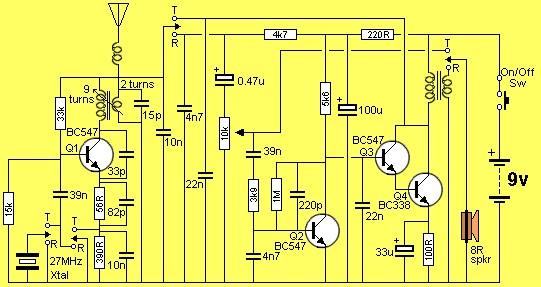 玩具对讲机的电路设计原理分析